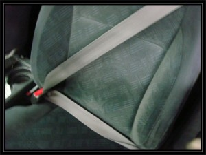 You need to actually have the seat belt wrapped around your body. Just sayin.