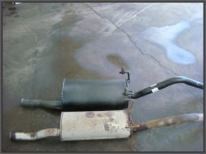 Good quality muffler vs cheaper muffler