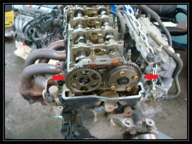Stretched timing chain